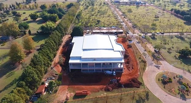 Obras do Centro de Convenções da Federação em Avaré seguem a todo vapor
