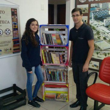 Biblio Caixateca já distribuiu mais de 250 livros