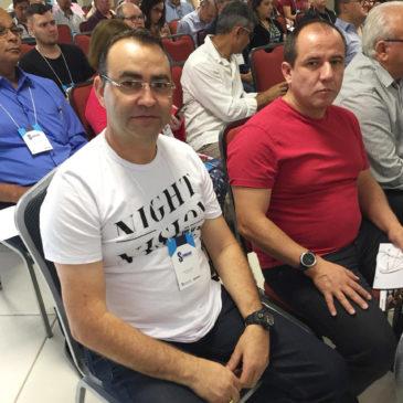 Dirigentes de Avaré presentes no Seminário Gestão e Política Sindical