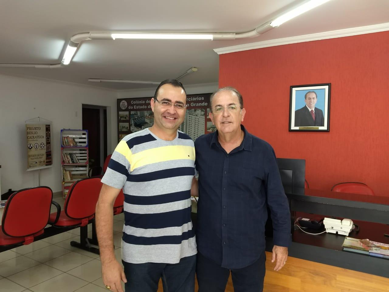 3349a7b415 Deputado eleito, Luiz Carlos Motta visita Sincomerciários Avaré ...