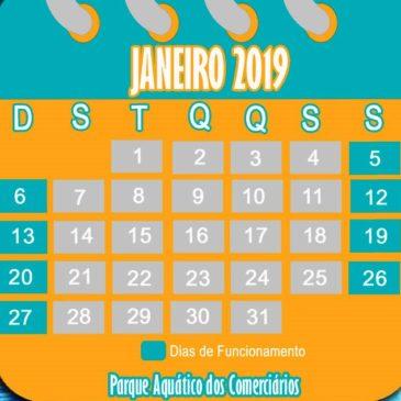 Definido calendário do Parque Aquático em 2019