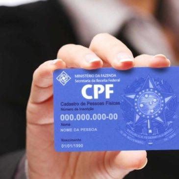 Correios farão inscrição e regularização de dados do CPF