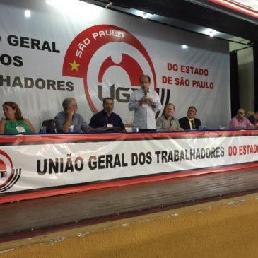 Congresso da UGT-SP fortalece luta contra MP 873 e reforma da Previdência