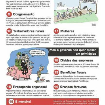 UGT/SP lança informativo sobre sobre Reforma da Previdência