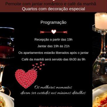 Centro de Lazer em Avaré oferece Dia dos Namorados especial