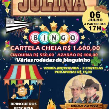 Festa Julina do Centro Avareense dia 6 de Julho * Participe!