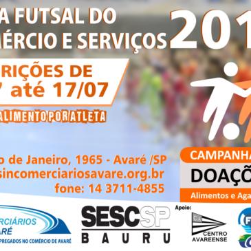 COPA FUTSAL DO COMÉRCIO E SERVIÇOS 2019