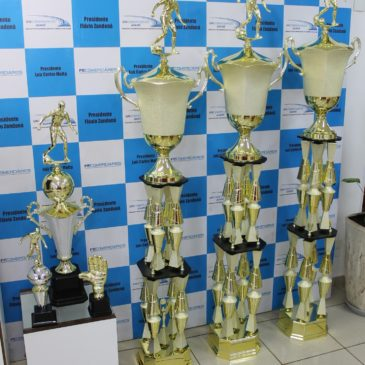 Troféus Copa Futsal do Comércio e Serviços 2019