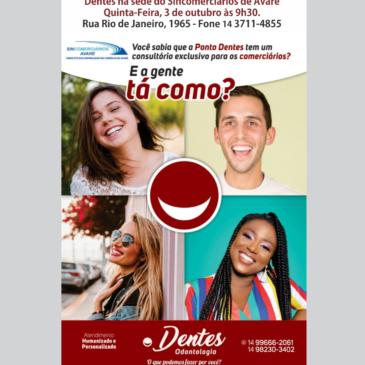 Sincomerciário e Pontos Dentes inaugurarão consultório odontológicos no próximo dia 3