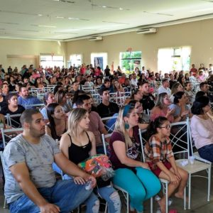 Cerca de 600 pessoas estiveram no evento no espaço JKR