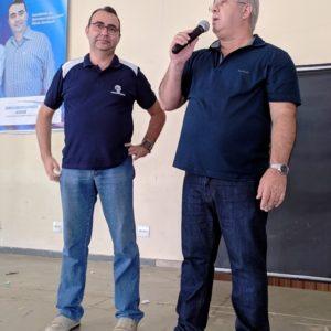 Representando a Câmara Municipal o Vereador Cabo Sérgio prestigiou o evento
