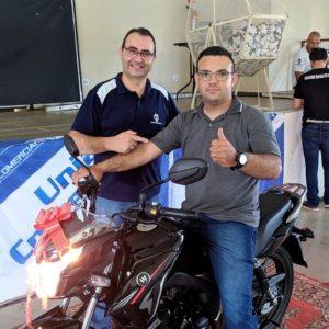 Ivan Azevedo Bastos da Água Viva ganhou aMoto 0 km