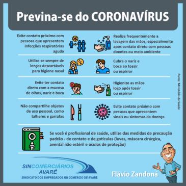 Orientações para o comércio na prevenção de epidemias