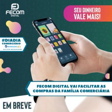FECOM DIGITAL vai facilitar compras da família Comerciária