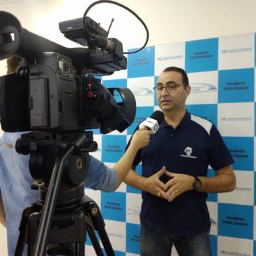 Flávio Zandoná concede entrevista para Do Vale TV falando sobre a situação trabalhista dos comerciários em Avaré.